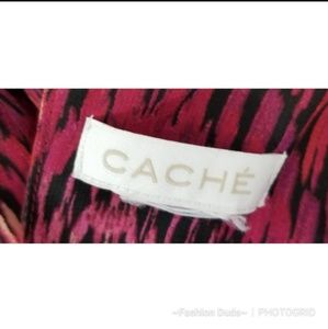 Cache Tops - CACHE HIGH LOW PLEATED TANK TOP